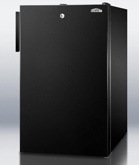 Accucold 19.25-Inch 4.1 Cu.ft. Compact Refrigerator With Lock By Summit Appliance.