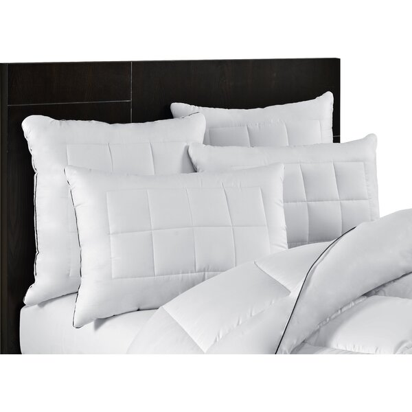 Ultra Plush Luxury Stomach Down Alternative Pillow (Set of 2) by Alwyn Home