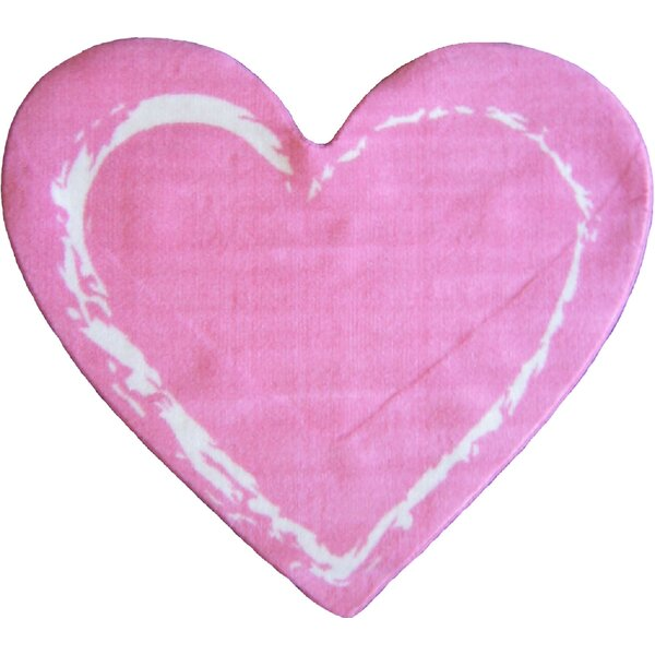 Fun Shape Medium Pile Heart Area Rug by Fun Rugs
