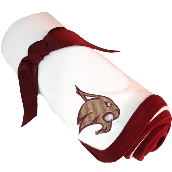 Texas State Bobcats Baby Receiving Blanket by Future Tailgater