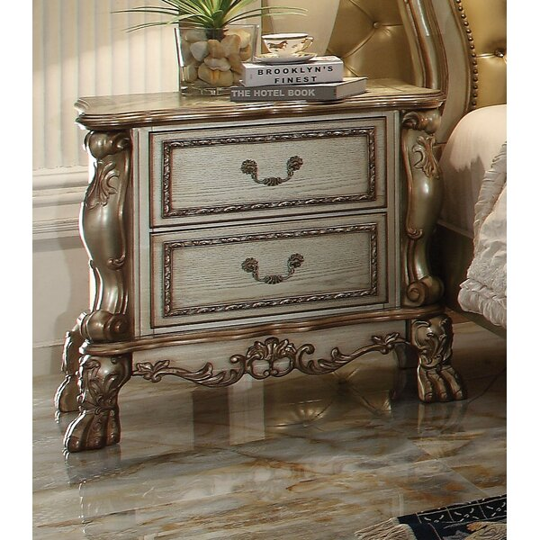 Dileo 2 Drawer Nightstand by Astoria Grand