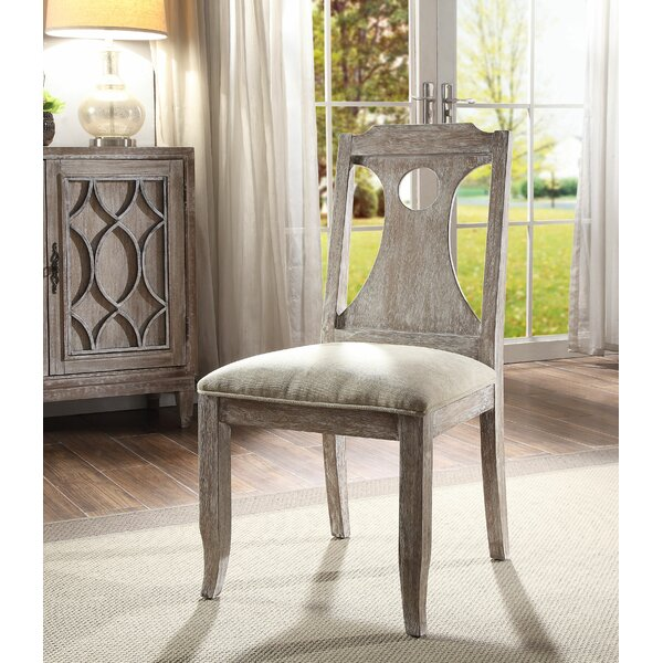 Visser Upholstered Dining Chair (Set of 2) by Ophelia & Co.