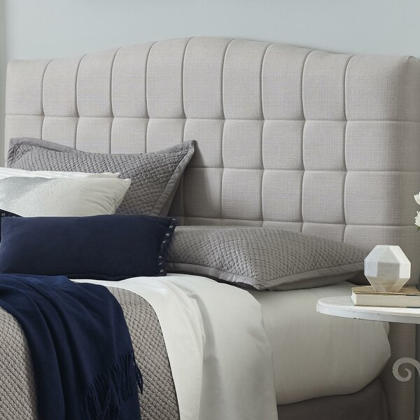 Luna Upholstered Panel Headboard by Serta at Home