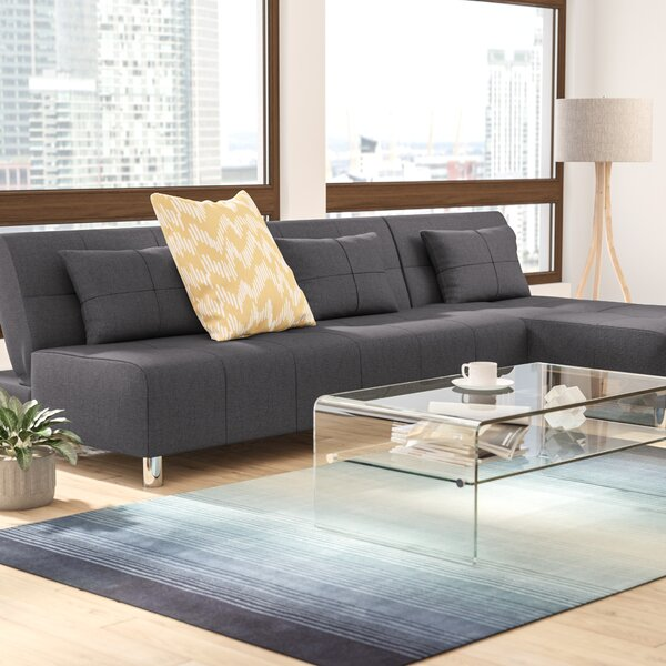 Ricardo Reversible Sleeper Sectional by Wade Logan