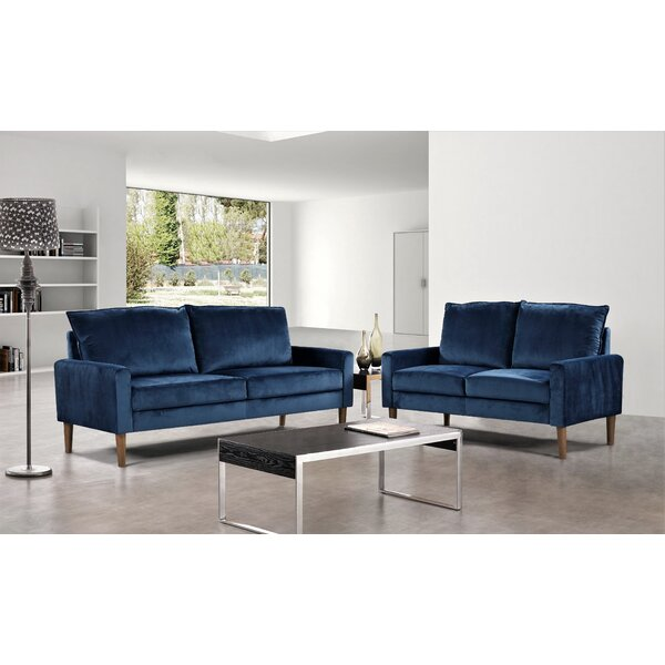 Petit 2 Piece Living Room Set By Mercer41
