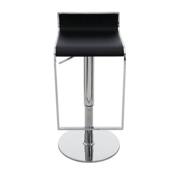 Alexander Adjustable Height Swivel Bar Stool by Nuevo