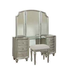 Redick Park Vanity with Mirror by Willa Arlo Interiors