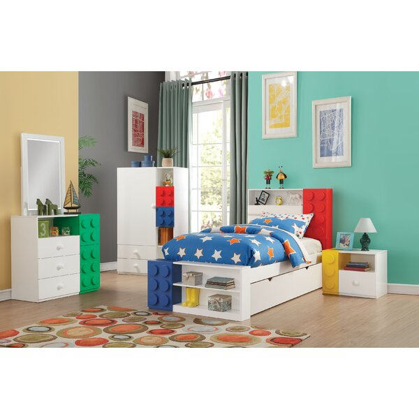 Hymes Storage Twin Panel Configurable Bedroom Set by Zoomie Kids