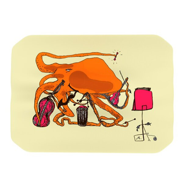 Playful Octopus Placemat by KESS InHouse