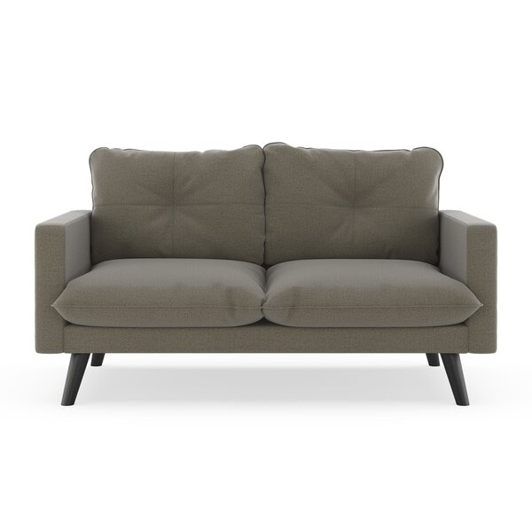 Review Rocky Hill Oxford Weave Loveseat