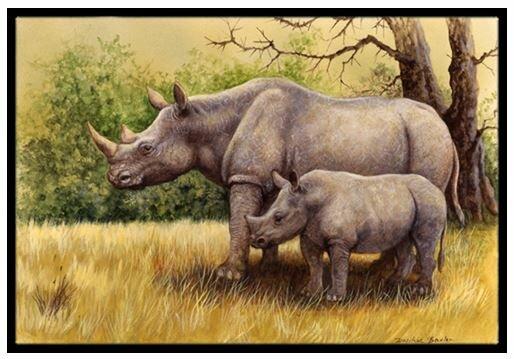 Rhinoceros Non-Slip Outdoor Door Mat