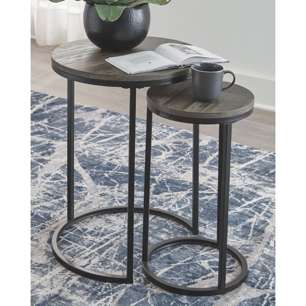 Swift 2 Piece Nesting Tables By Gracie Oaks