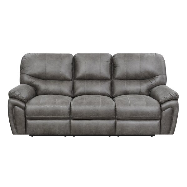 Quance Reclining Sofa by Winston Porter