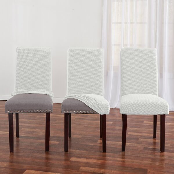 Harlowe Box Cushion Dining Chair Slipcover (Set Of 2) By Ebern Designs