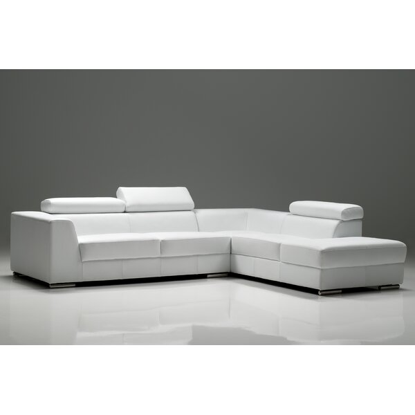 Cesca Symmetrical Right Side Facing Chaise Sectional By Orren Ellis