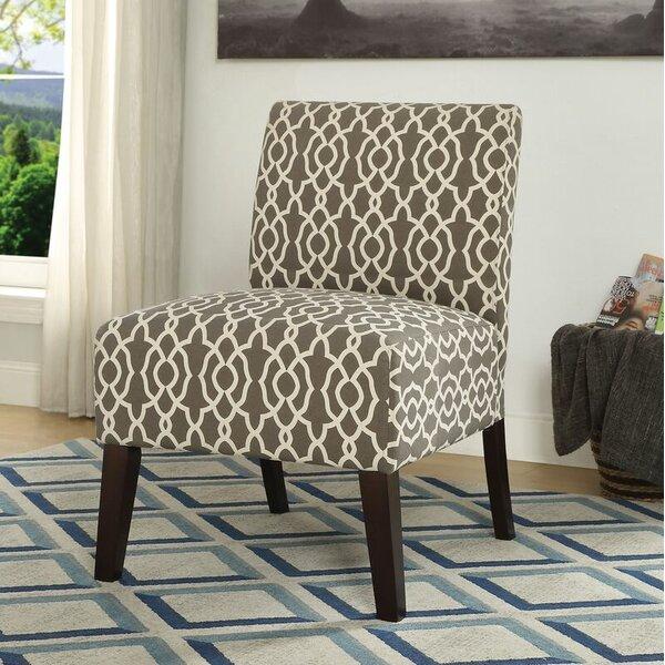 Cleek Slipper Chair by Ebern Designs