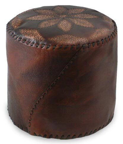 Ottoman Slipcover by Novica