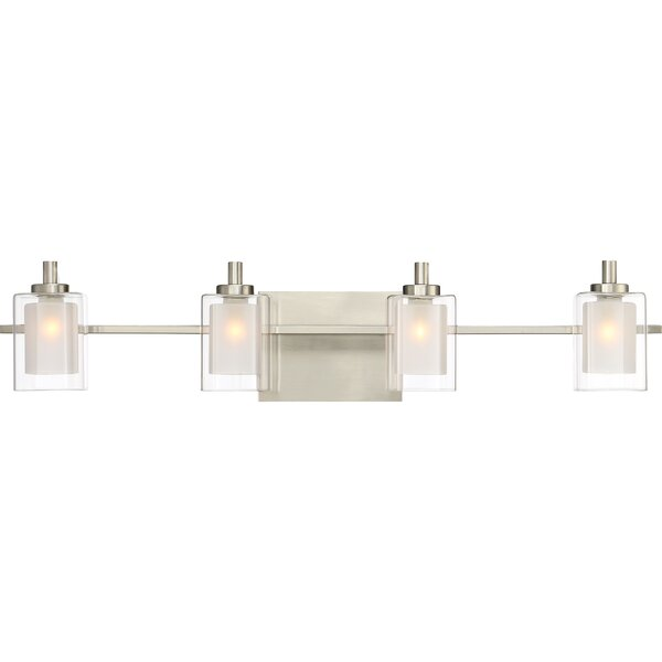 Aldrich 4-Light Vanity light by Wade Logan