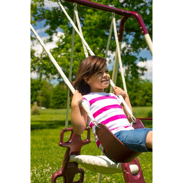 Sling Swing with Chain (Set of 4) by Flexible Flyer
