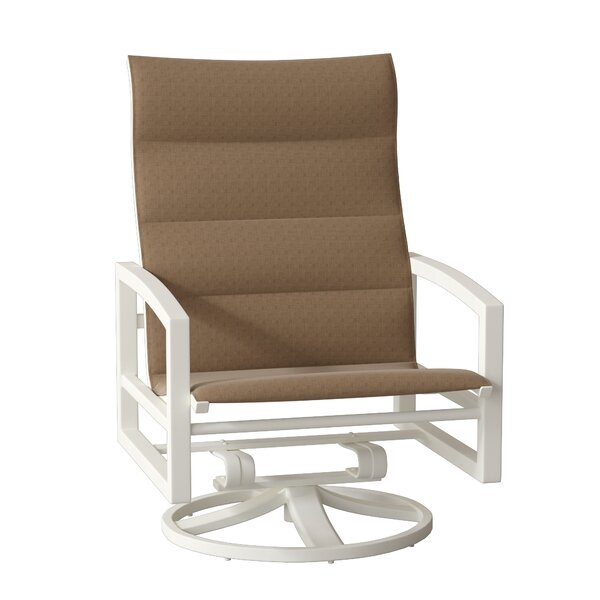 Lakeside Swivel Patio Dining Chair by Tropitone