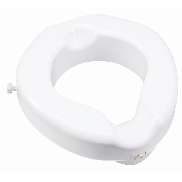 Safe Lock Raised Toilet Seat By Carex.