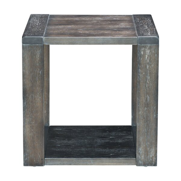 Zurcher End Table by Gracie Oaks