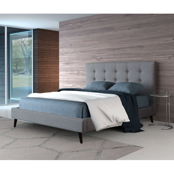Redding Upholstered Panel Bed by Langley Street
