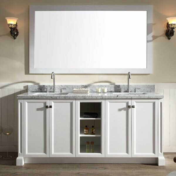 Westwood 73 Double Bathroom Vanity Set by Ariel Bath