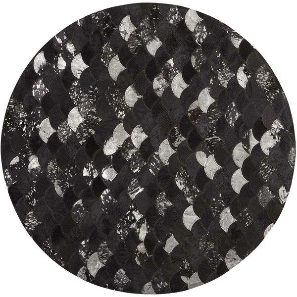 Miramare Black/Silver Area Rug by Mercer41
