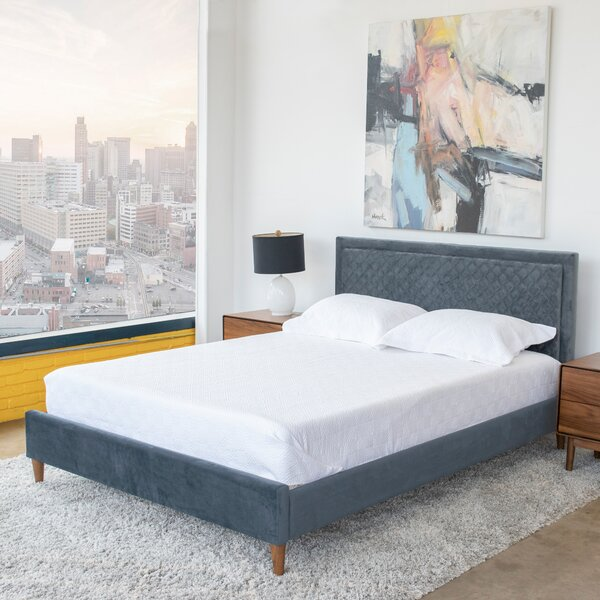 Clyda Queen Upholstered Platform Bed by Mercer41