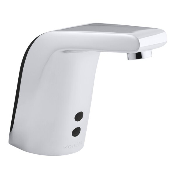 Sculpted Single-Hole Touchless Ac-Powered Commercial Bathroom Sink Faucet with Insight Technology and 5-3/4 Spout by Kohler