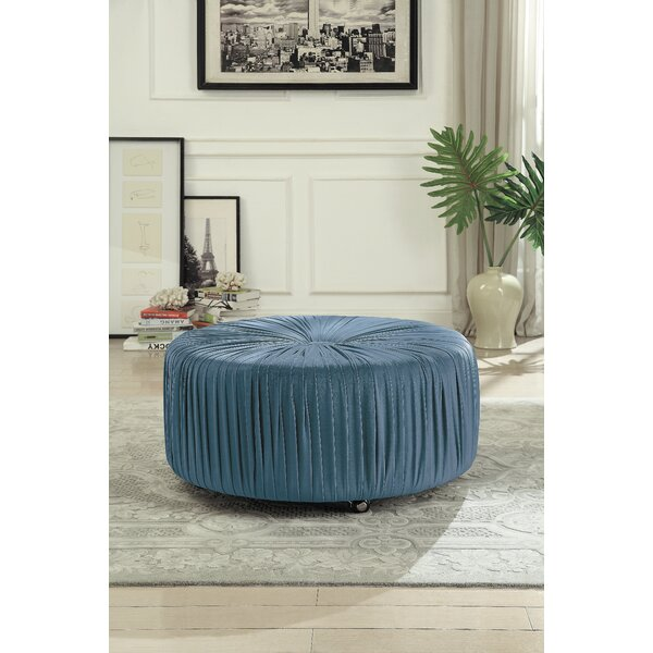 Doster Tufted Cocktail Ottoman by Charlton Home