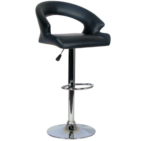 Willingham Adjustable Height Swivel Bar Stool By Orren Ellis