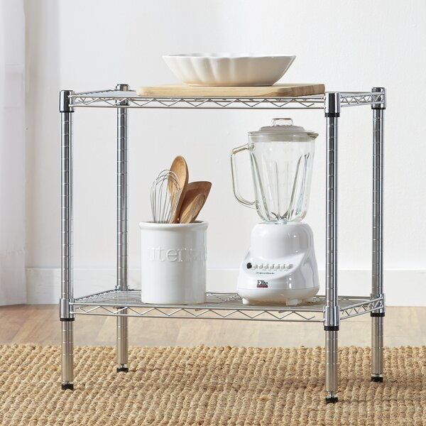 Wayfair Basics 2 Tier Shelving Unit by Wayfair Bas