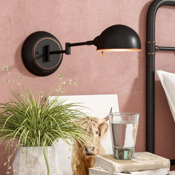 San Bernardino Swing Arm Lamp by Trent Austin Design