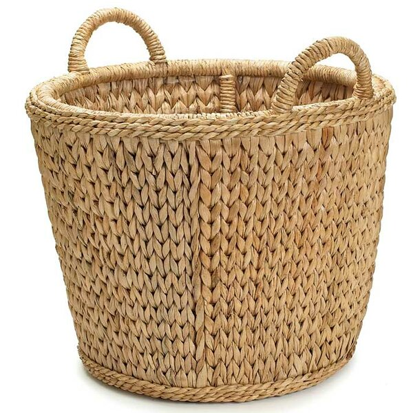 Sweater Weave Sea Grass Log Carrier by Mainly Baskets