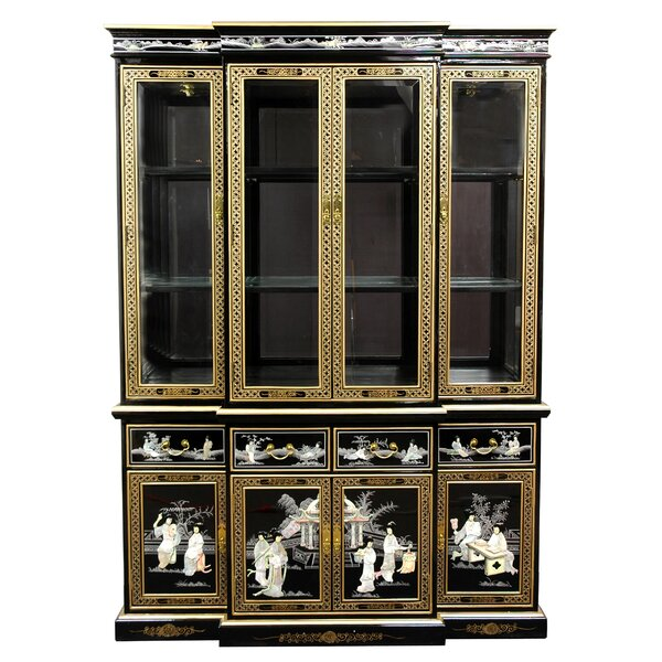 Conde Lighted China Cabinet by Bloomsbury Market