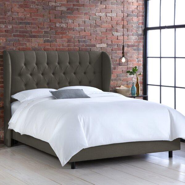 Elsa Upholstered Panel Bed by Wayfair Custom Upholstery™
