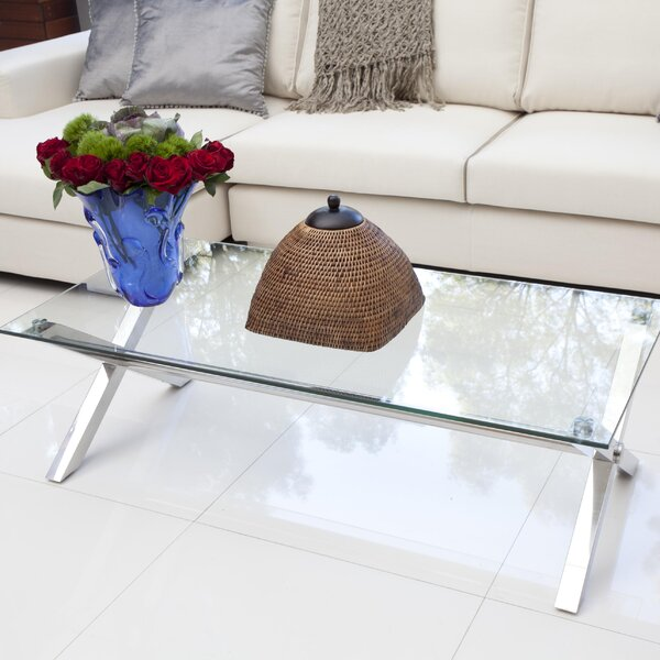 Emiliano Coffee Table by Wade Logan