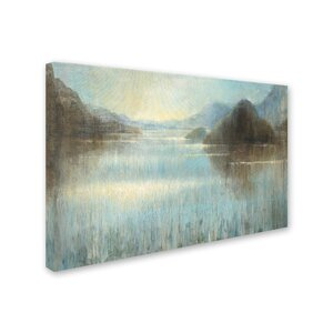 'Through the Mist Crop' Print on Wrapped Canvas by Trademark Fine Art