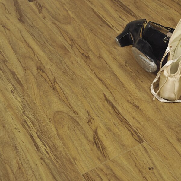 7 x 48 x 12.3mm Laminate Flooring in Rustic Olive by Serradon