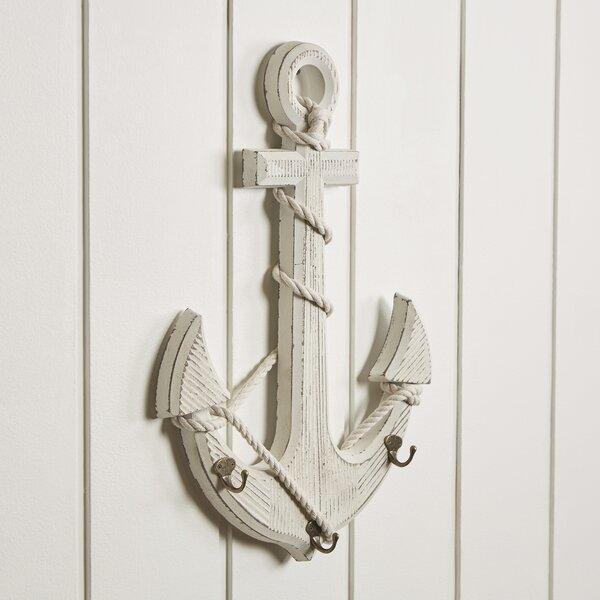 Wooden Anchor Wall Hook by Birch Lane™