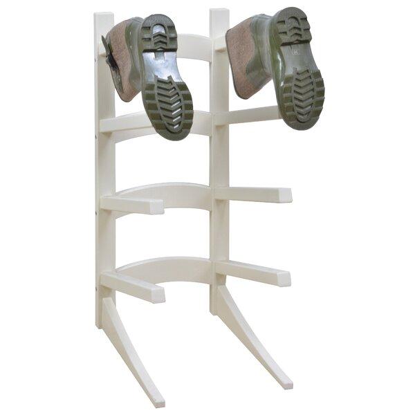 Standing 4 Pair Shoe Rack