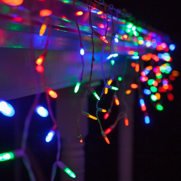 70 Light Icicle LED Light by The Holiday Aisle