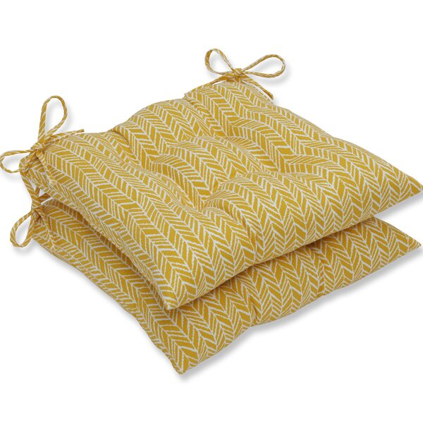 Indoor/Outdoor Dining Chair Cushion (Set Of 2) By George Oliver