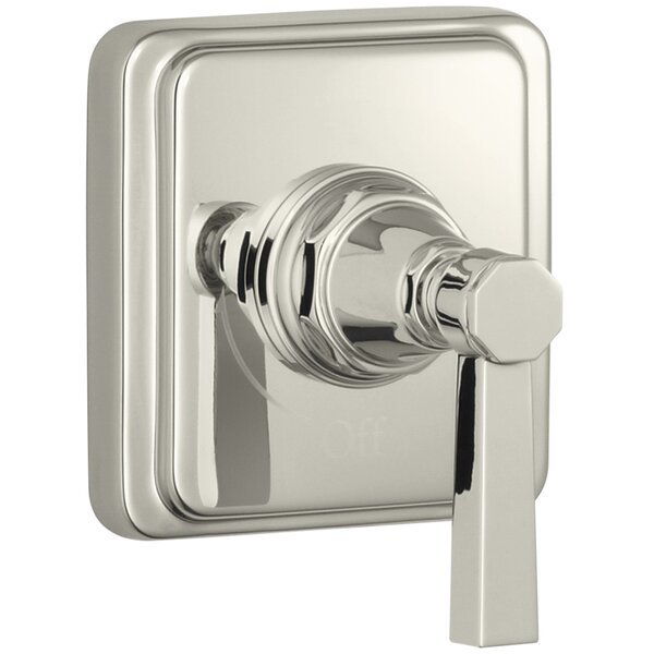 Pinstripe Valve Trim with Pure Design Lever Handle for Volume Control Valve, Requires Valve by Kohler