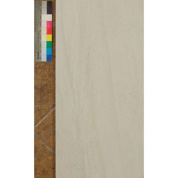 Purestone 12 x 24 Porcelain Wood Look/Field Tile in Bianco by Bedrosians