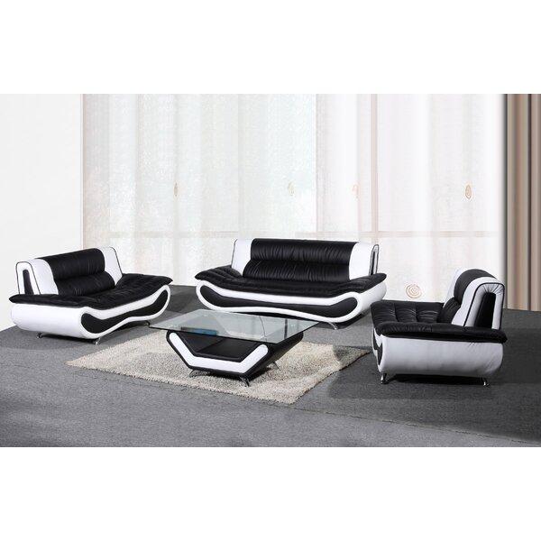 Corbitt 3 Piece Living Room Set by Ebern Designs