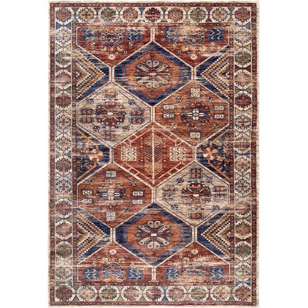 Stave Rust Area Rug by Millwood Pines