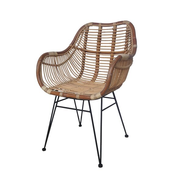 Bierstadt Reysa Patio Dining Chair by Bungalow Rose